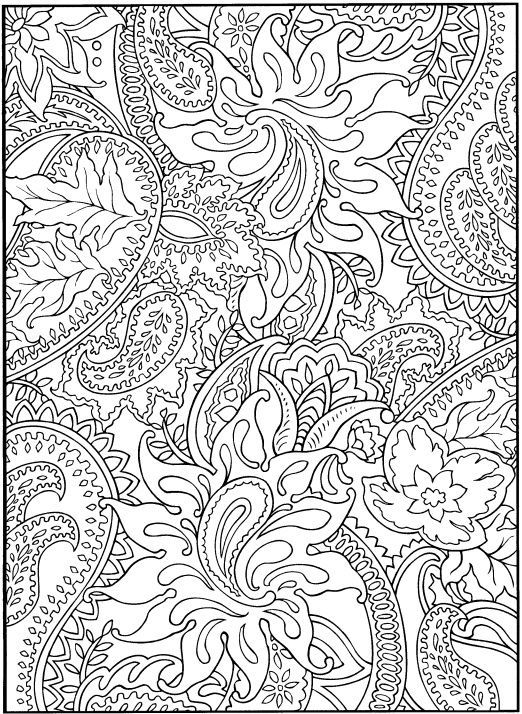 coloring pages for adults stress relief pusat hobi