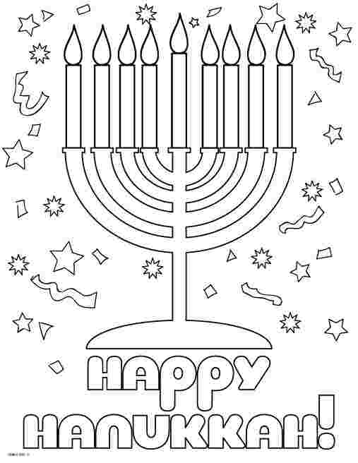 coloring pages for hanukkah free printable hanukkah coloring