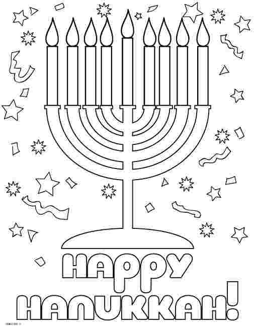coloring pages for hanukkah free printable hanukkah coloring