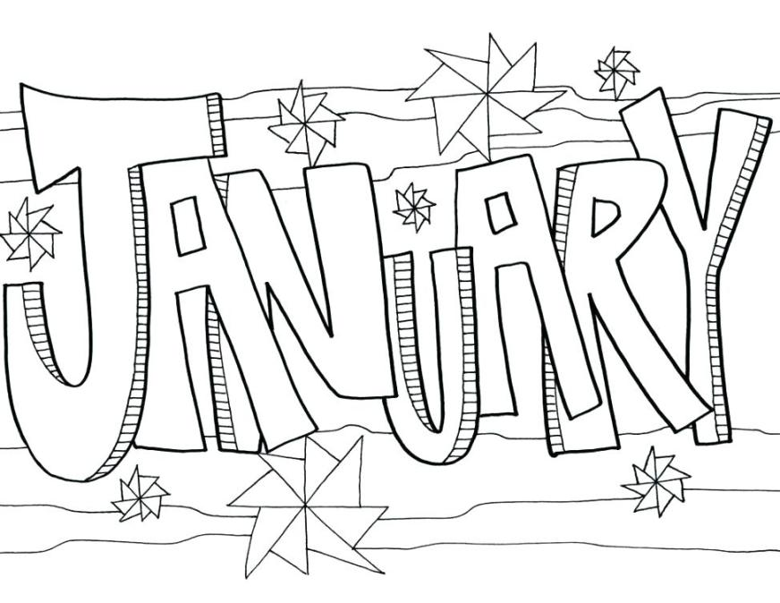 coloring pages for january printable preschool wigglepro