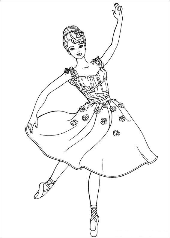 coloring pages for kids barbie colouring pages barbie