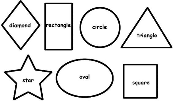 coloring pages for kids shapes