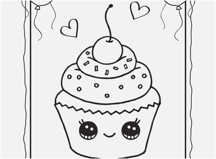 coloring pages for kids to print photographs cupcake draw so
