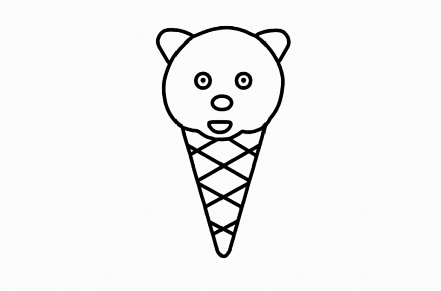 coloring pages for toddlers coloring for kids with ice cream