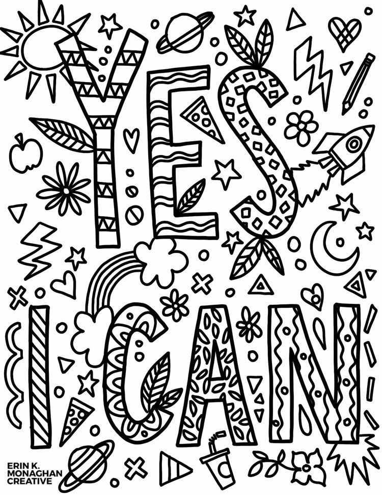 coloring pages free coloring pages growth mindset for