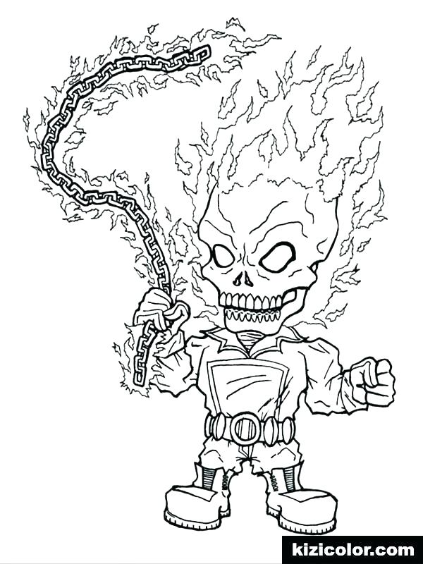 coloring pages ghost rider filelocker