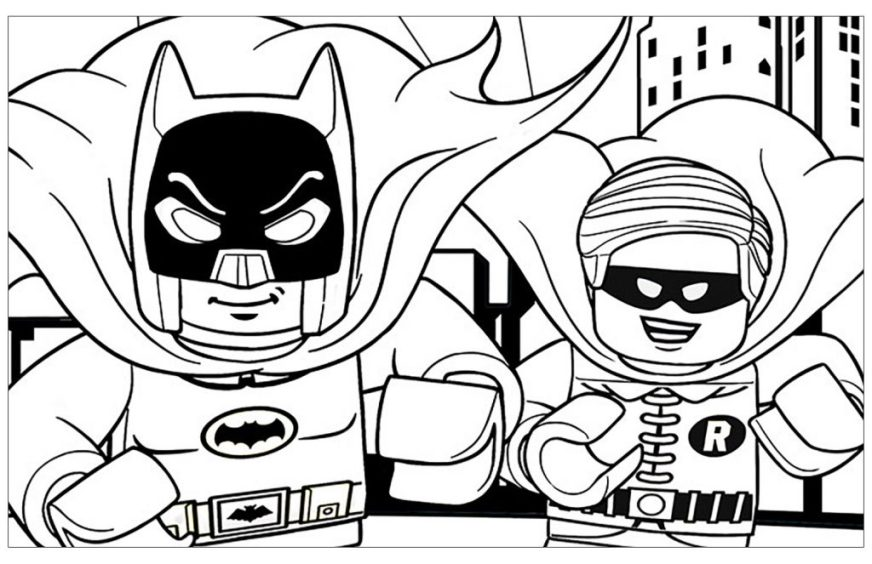 coloring pages ideas coloring for kids lego batman pages
