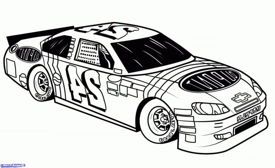 coloring pages ideas fantastic nascar coloringages image