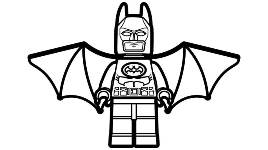 coloring pages ideas free batman pictures to color and