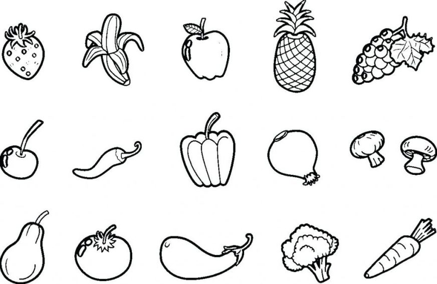coloring pages ideas freeable vegetable coloring pages for
