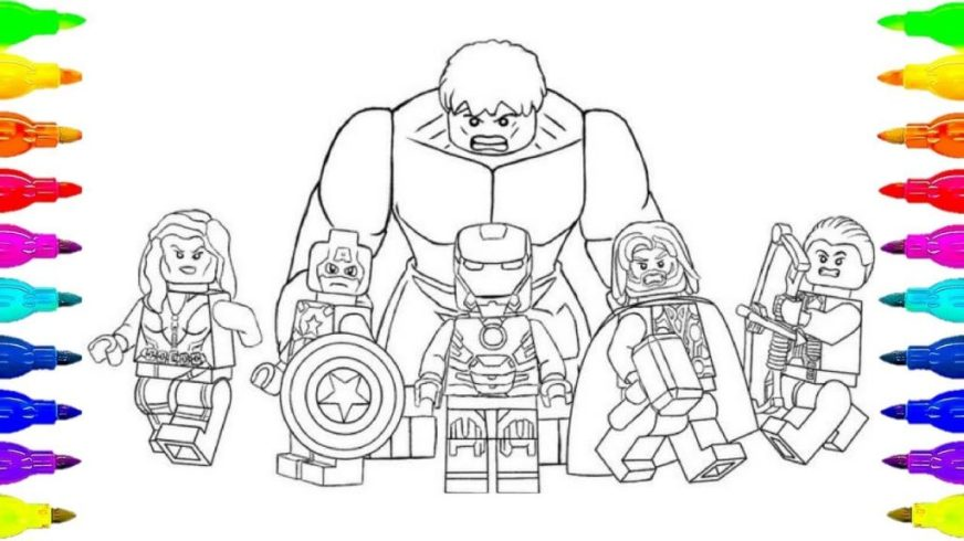 coloring pages ideas maxresdefault coloringego avengers