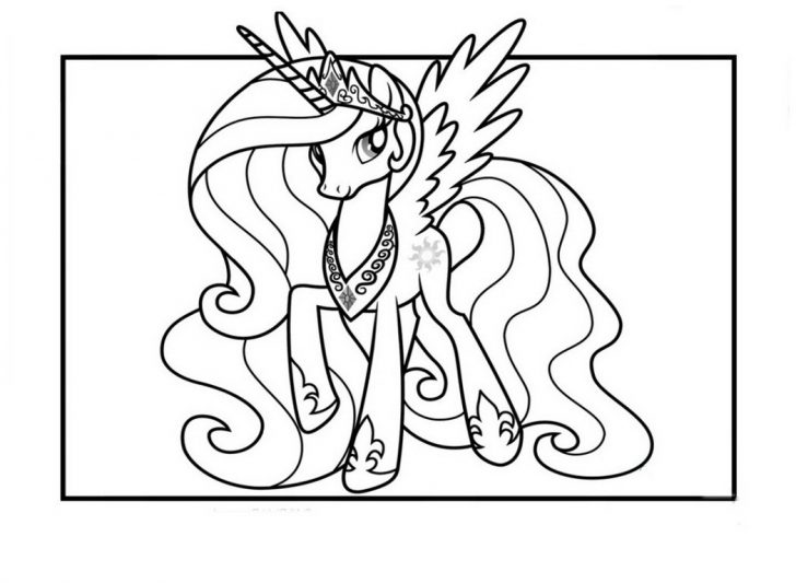 coloring pages ideas princess celestia coloring pages my