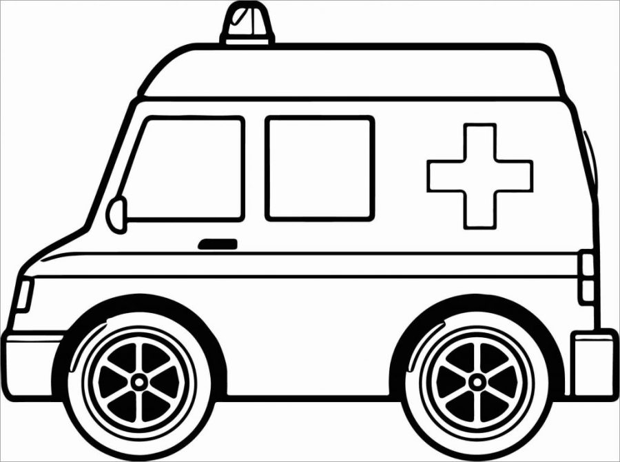 coloring pages ideas stunning ambulance coloring pages for