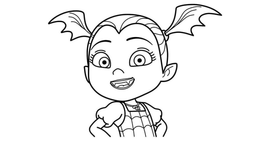 coloring pages ideas vampirina coloring pages to printor