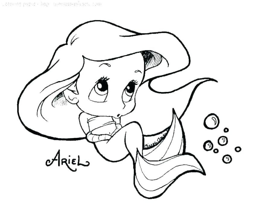 coloring pages little mermaid barbie pdf sheets wigglepro