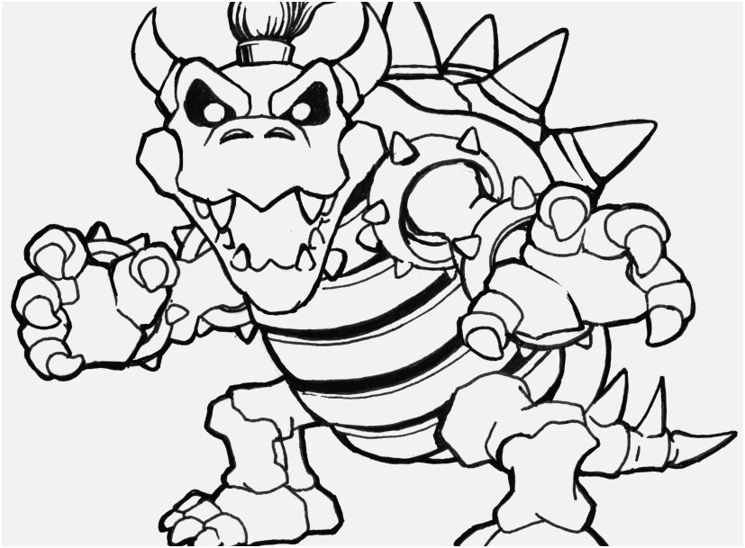 coloring pages mario photographs bowser coloring bowser