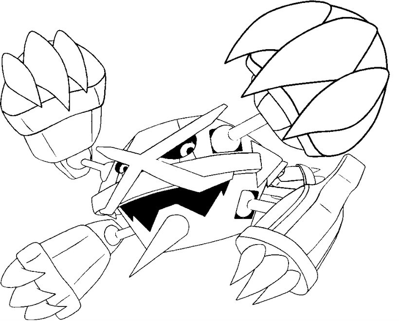 coloring pages mega evolved pokmon morning kids
