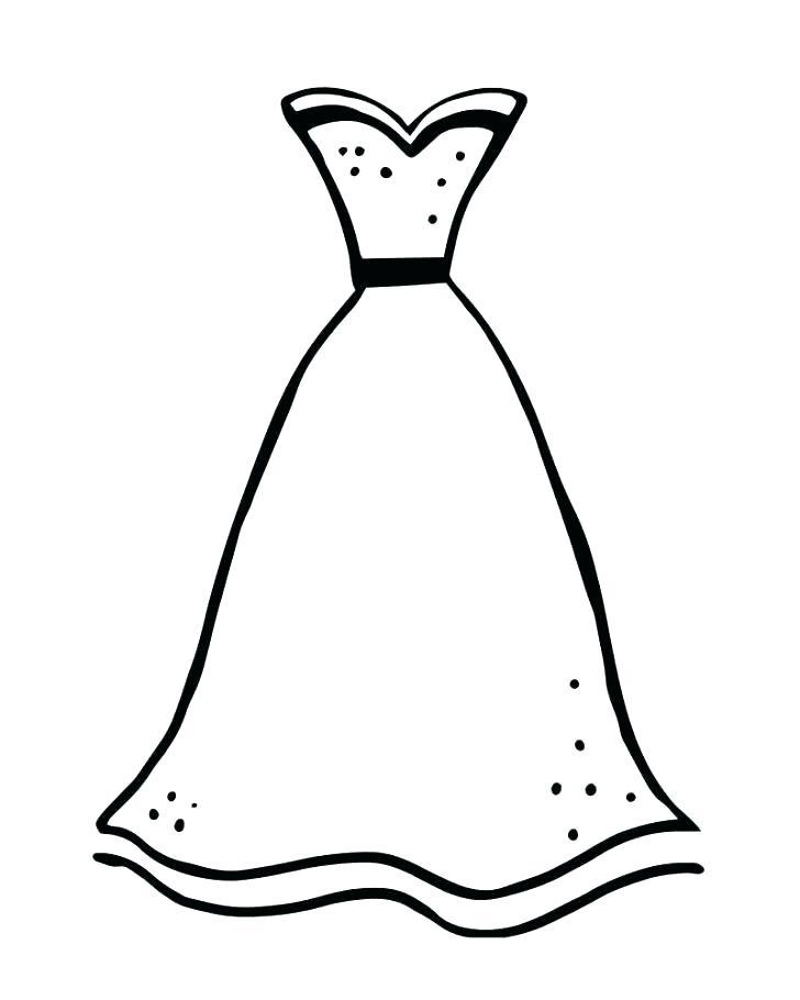 coloring pages of fancy dresses dopravnisystem