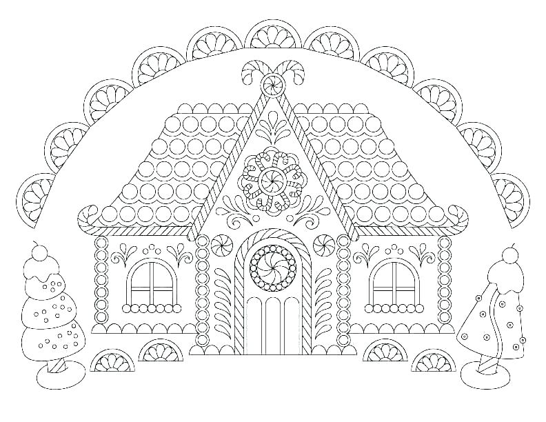 coloring pages of houses and buildings soidesign