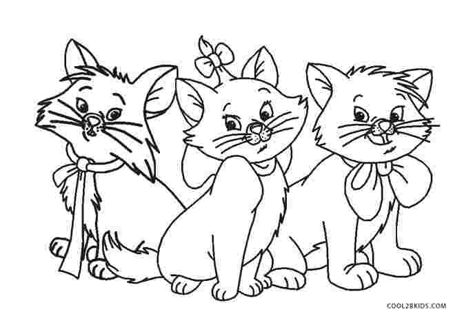 coloring pages of kitty cats radart cats rule coloring