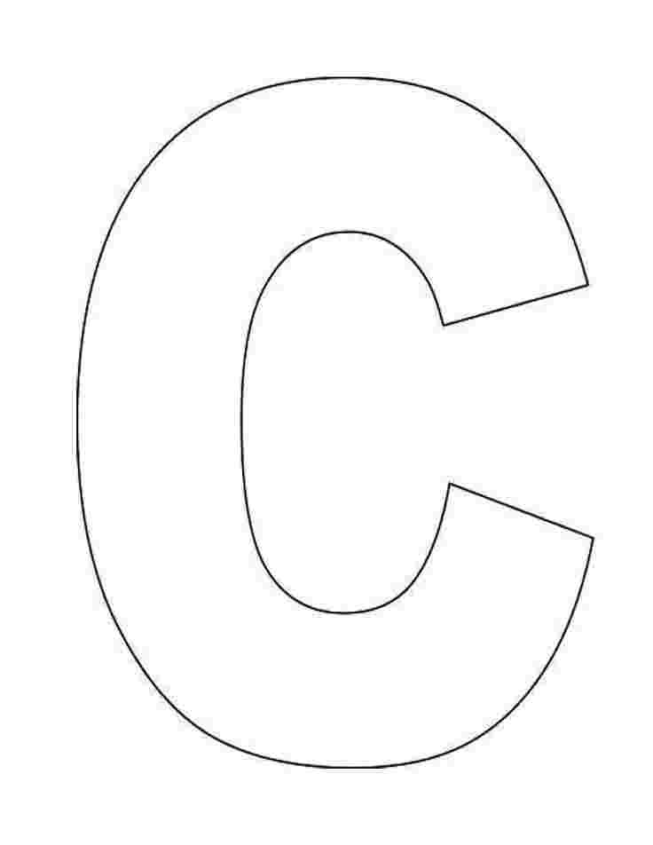 coloring pages of letter c letter c coloring pages to