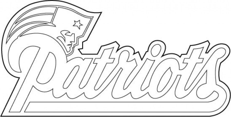 coloring pages of new england patriots