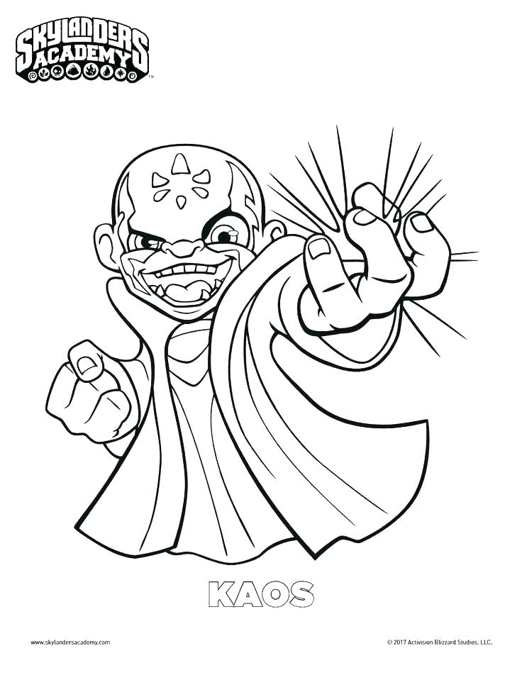 coloring pages of skylanders to print colouring
