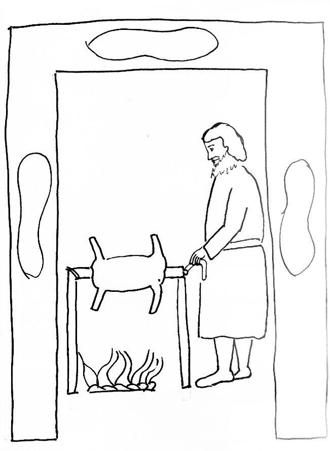 coloring pages passover story at getdrawings free for