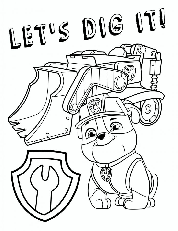 Coloring Pages Paw Patrol Collection - Whitesbelfast.com