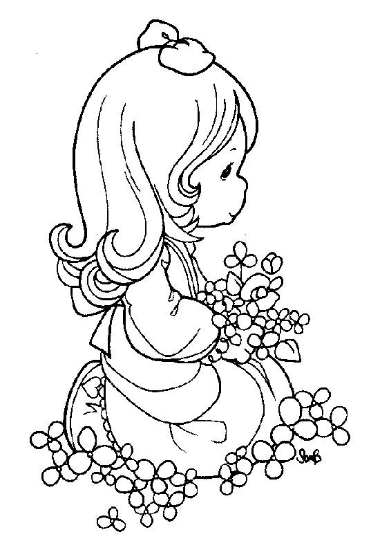 coloring pages precious moments picture 43