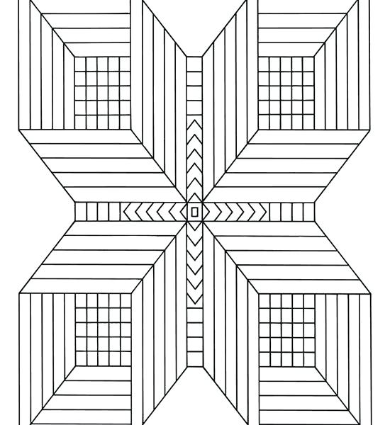 Zen symmetry - Zen and Anti stress Coloring Pages for Adults ... | 600x550