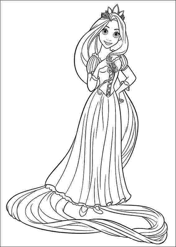 coloring pages printable rapunzel free printable tangled