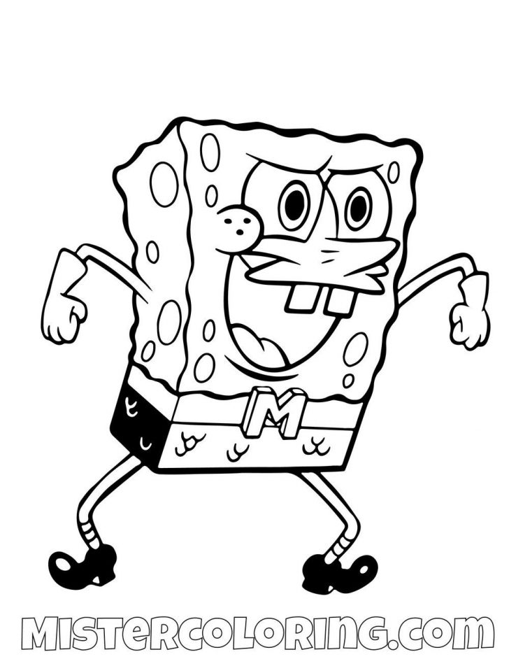 coloring pages spongebob squarepants coloring pages hanna