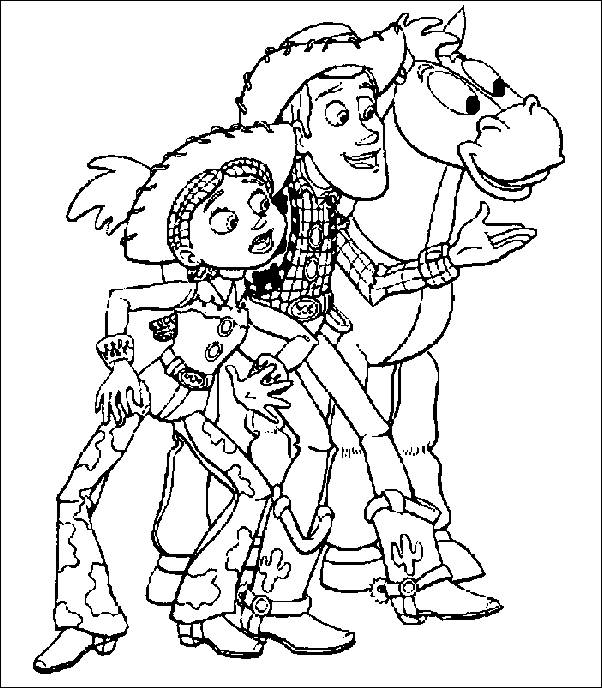 coloring pages toy story picture 4