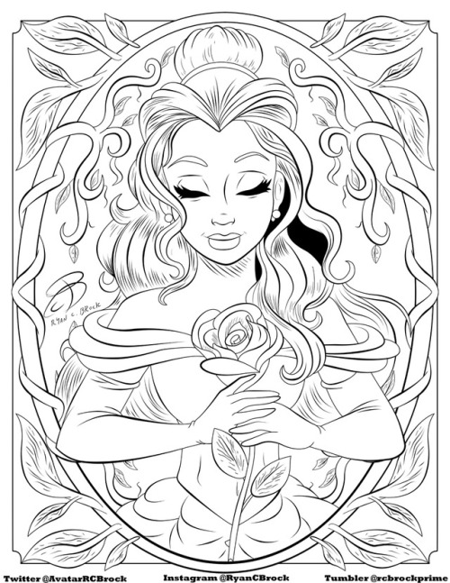 coloring pages tumblr disney