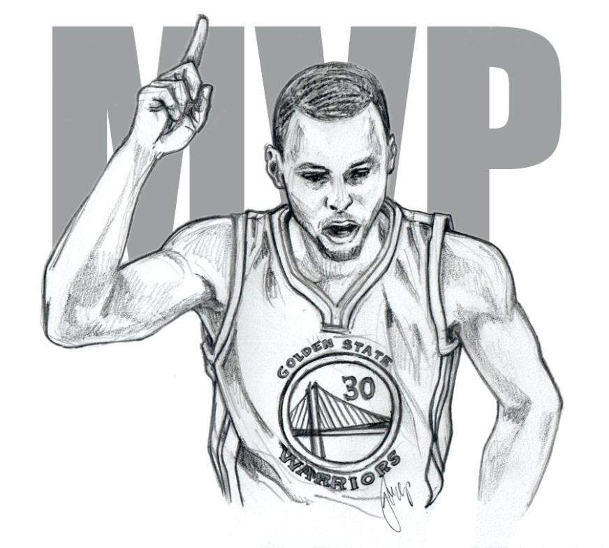 coloring pictures of stephen curry