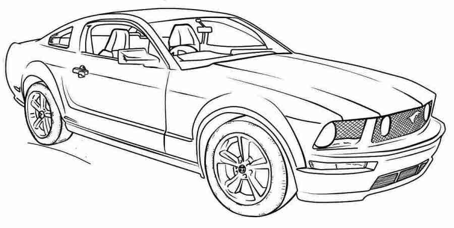 coloring sheets mustang cars 1969 mustang coloring pages