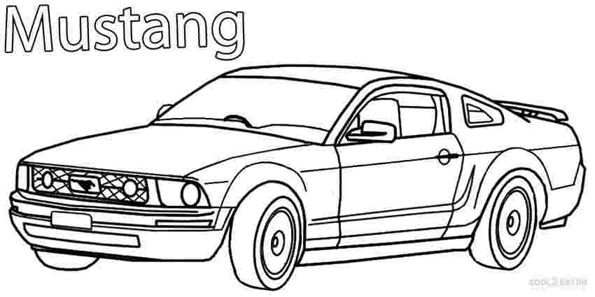 coloring sheets mustang cars fast car mustang coloring pages