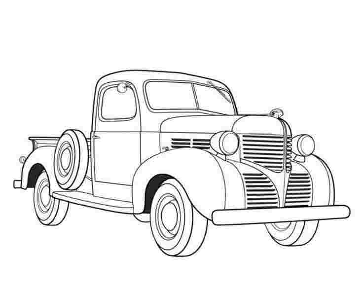 coloring sheets of cars and trucks truck coloring pages