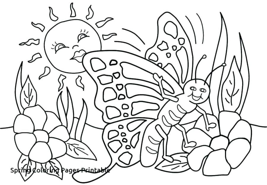 coloring sheets spring yijihs