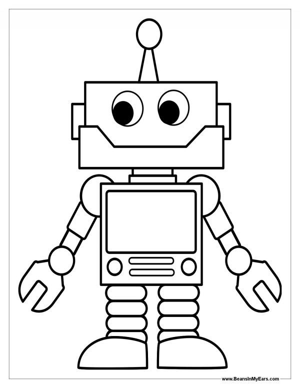 colors colouring pages robots colouring coloring pages of