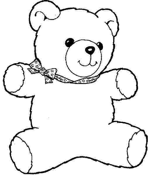 colouring pages of teddy bears coloring pages teddy bear