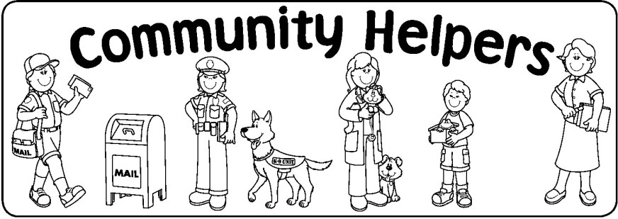 community helpers coloring pages community helpers