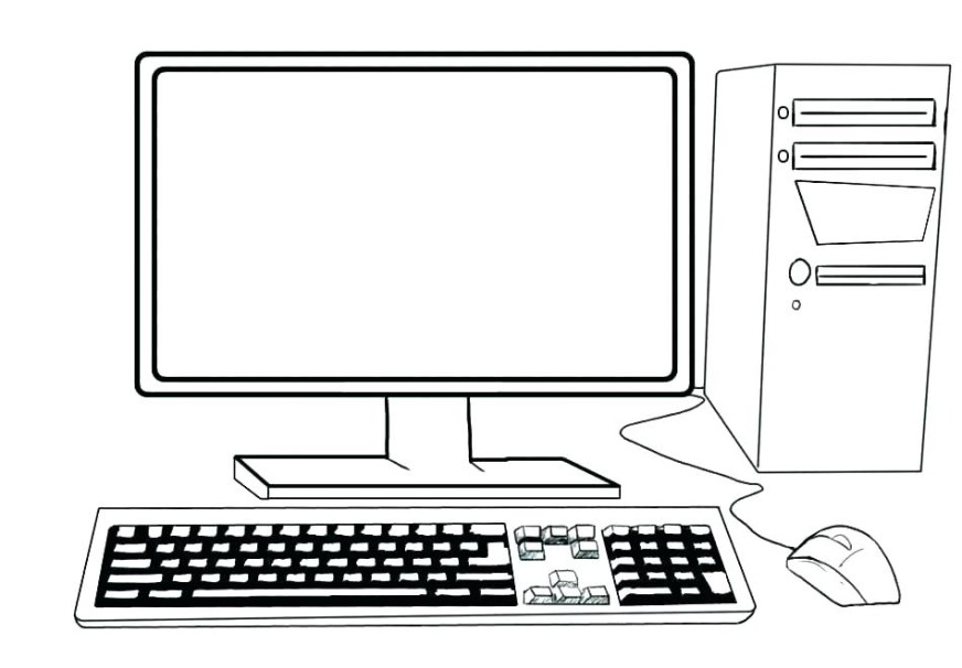 computer coloring pages best coloring pages for kids