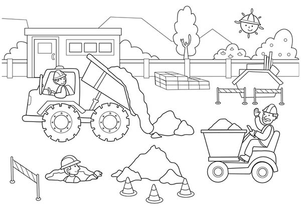 construction coloring pages at getdrawings free for