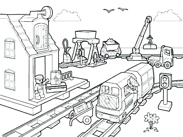 construction site coloring pages at getdrawings free
