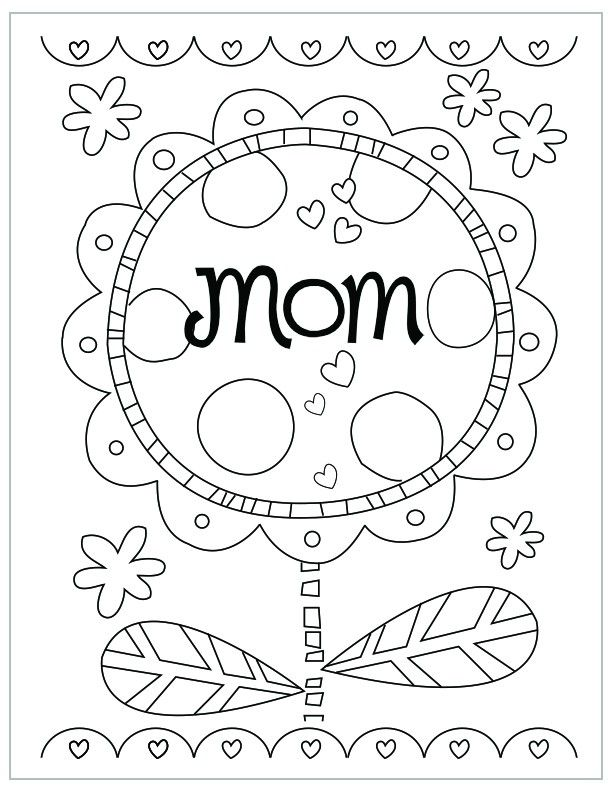 cool mothers day coloring pages mothers day coloring