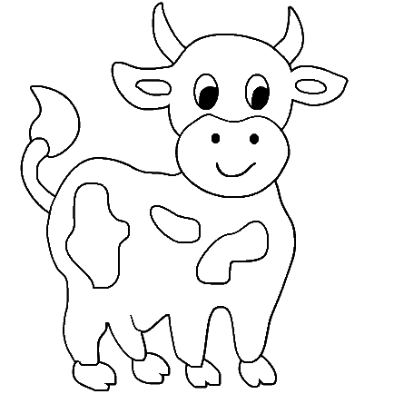 cow coloring pages for kids could be more wonderful after