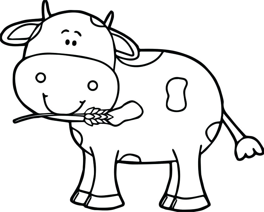 cows coloring pages cow to print colouring of gtausaxyz