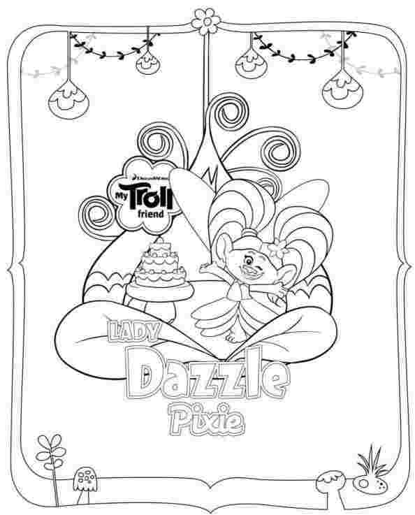troll coloring pages picture - whitesbelfast